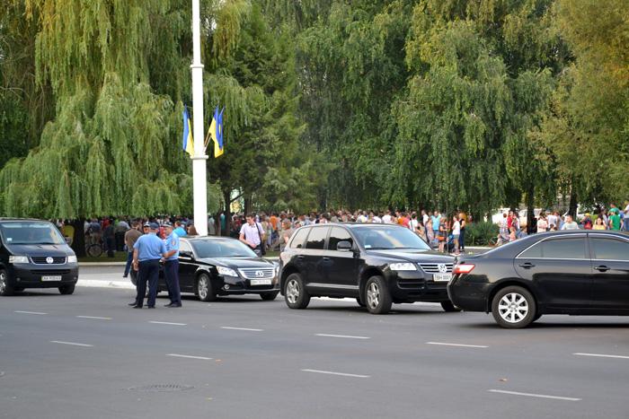 Михаил Саакашвили в Измаиле