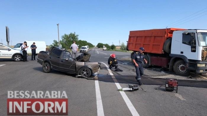 На трассе Одесса-Рени в ДТП погибли четверо людей. ФОТО. ВИДЕО