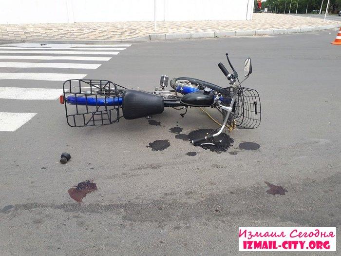 В Измаиле ДТП с пострадавшим. ФОТО