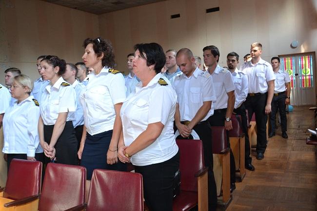 Вручение дипломов на Дунайском факультете ДУИТ. ВИДЕО