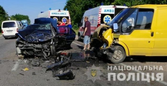 На трассе Одесса-Рени произошло ДТП с пострадавшими