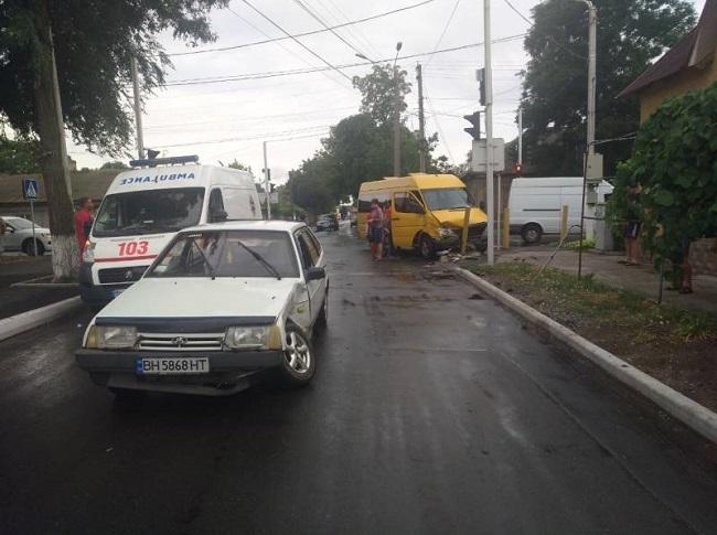 В ДТП в Измаиле пострадали дети. ФОТО