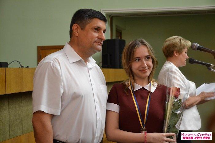 В Измаиле наградили медалистов