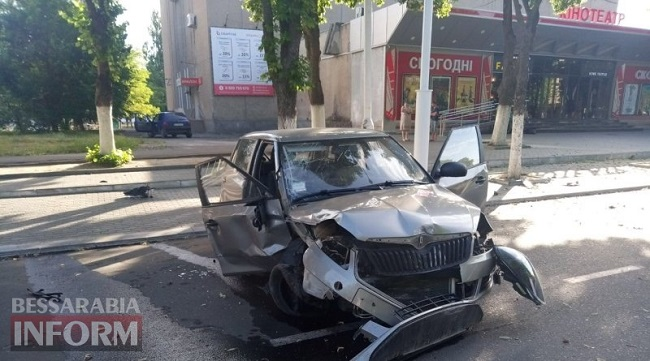 В Измаиле ДТП с пострадавшими. ФОТО