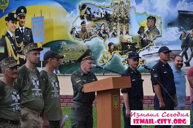 В Измаиле проходят Всеукраинские детско-юношеские сборы