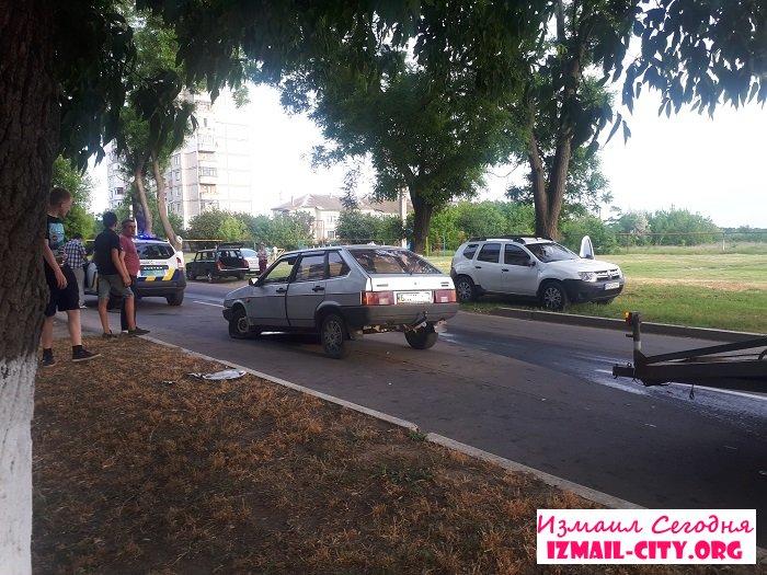 В Измаиле произошло ДТП. ФОТО