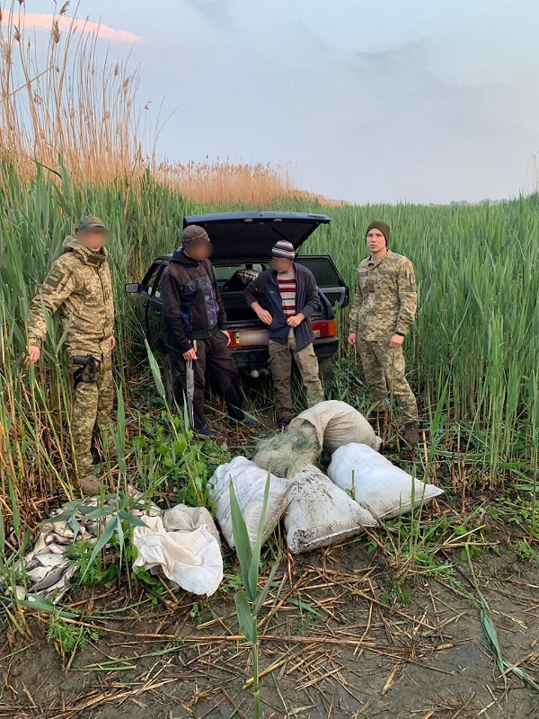 На озере Кагул задержаны браконьеры. ФОТО