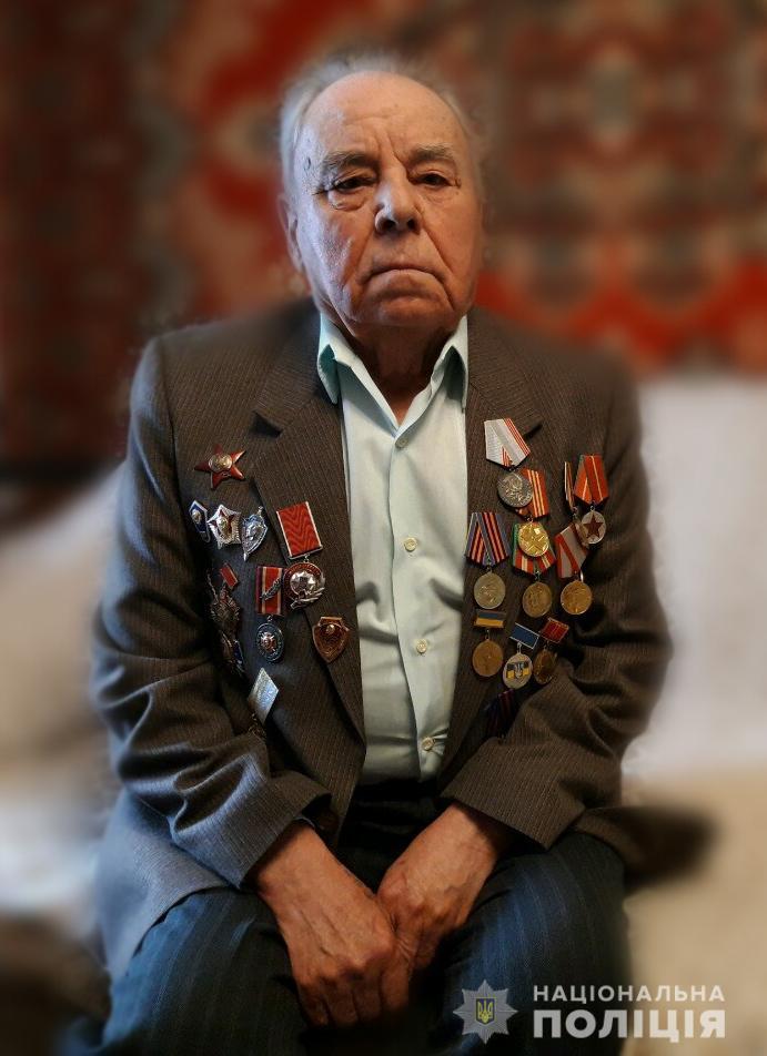 Измаильские полицейские поздравили ветерана с Днем Победы