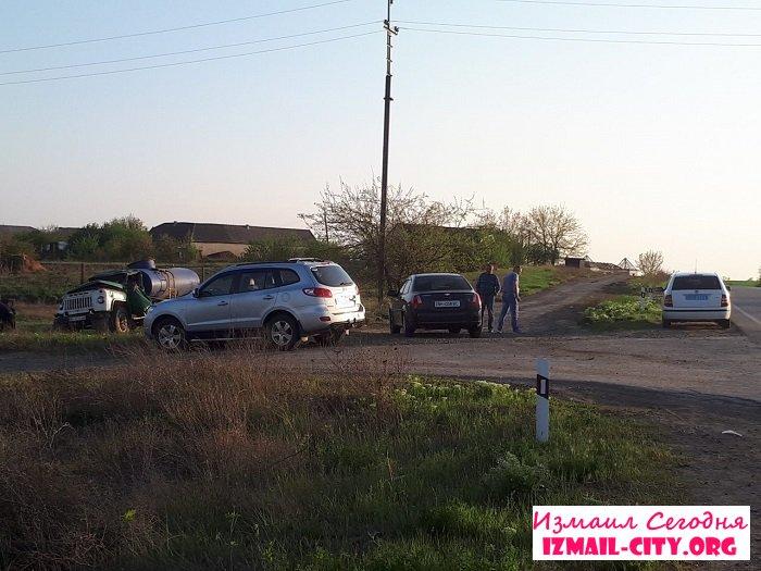 На трассе Одесса-Рени серьзное ДТП. ФОТО