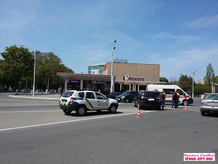 В Измаиле сегодня произошло ДТП. ФОТО