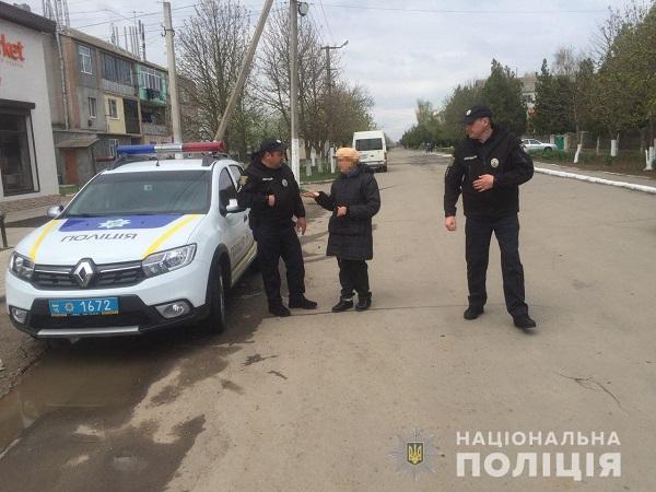 Правоохранители Одесской области проводят превентивную работу с пешеходами
