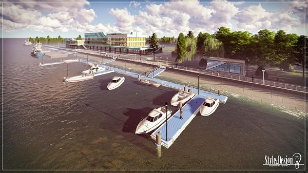 Причал для маломерных судов. Очередной крупный проект в Измаиле. ФОТО