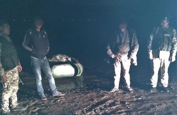 Пограничники задержали браконьеров на озере Кагул с уловом на 15 тысяч гривен