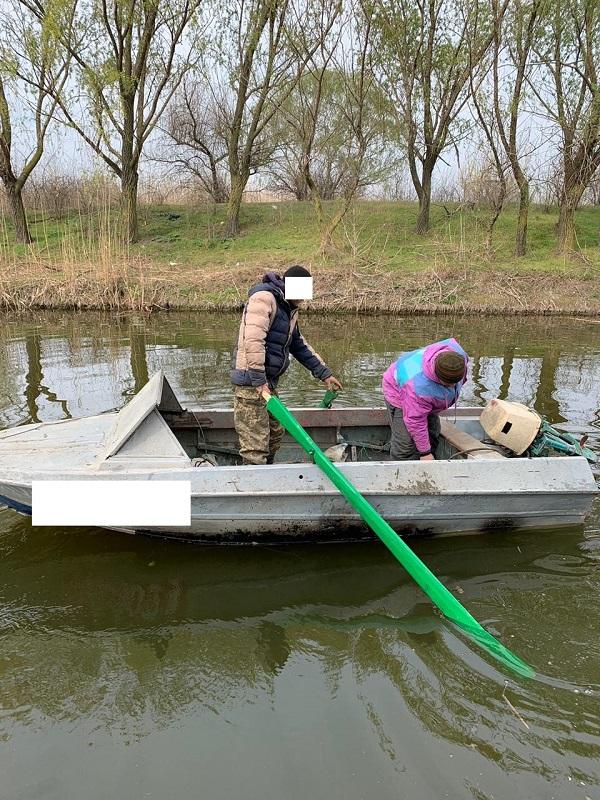 Пограничники задержали браконьеров на озере Кугурлуй