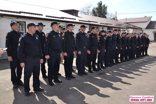 Новый шеф измаильской патрульной полиции. ФОТО