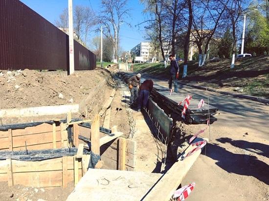 Капитальный ремонт Центрального стадиона продолжается: идёт реконструкция Спортивной площади