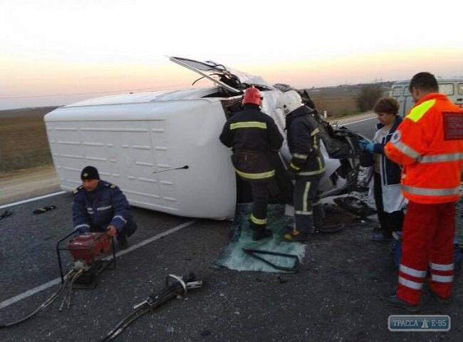 На трассе Одесса-Рени в результате ДТП погиб мужчина. ФОТО
