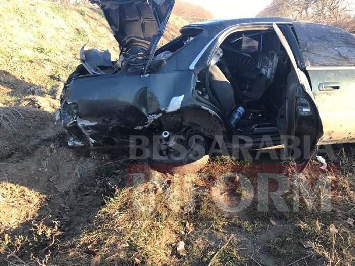 ДТП: на трассе Одесса-Рени перевернулось авто. ФОТО