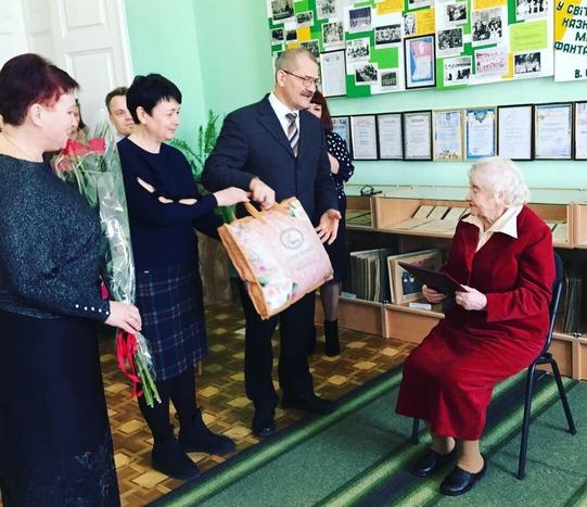 Основатель и руководитель Детского фонда отмечает свой 90-летний юбилей