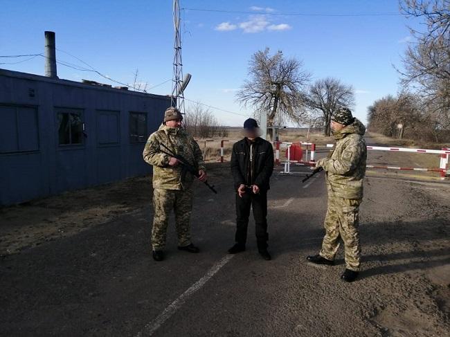 Пограничники Измаильского отряда задержали гражданина Молдовы, которого разыскивал Интерпол