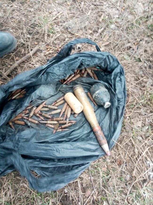 Измаильские пограничники изъяли у жителя Болграда боеприпасы