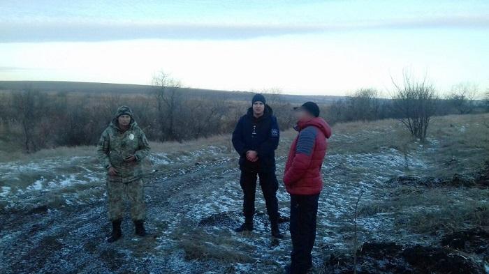 Украинские и молдавские пограничники задержали нарушителя государственной границы