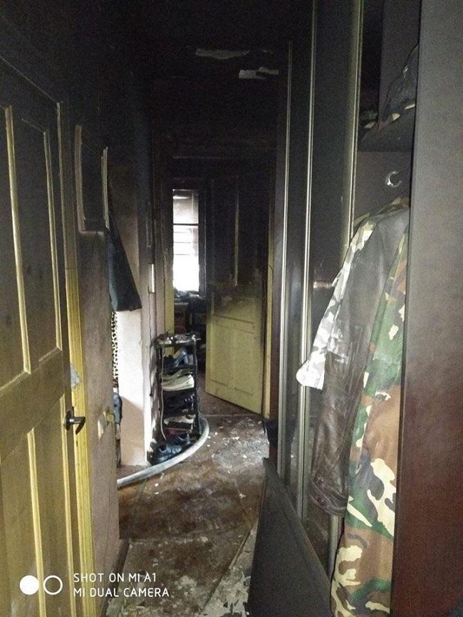 В Измаиле горела квартира. ФОТО