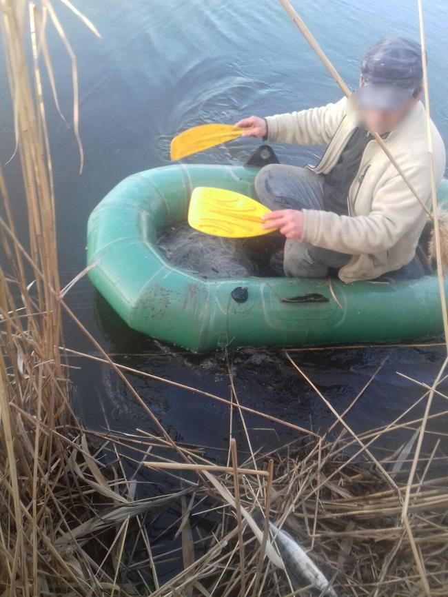 Пограничники с помощью местных жителей пресекли незаконное рыболовство на Дунае