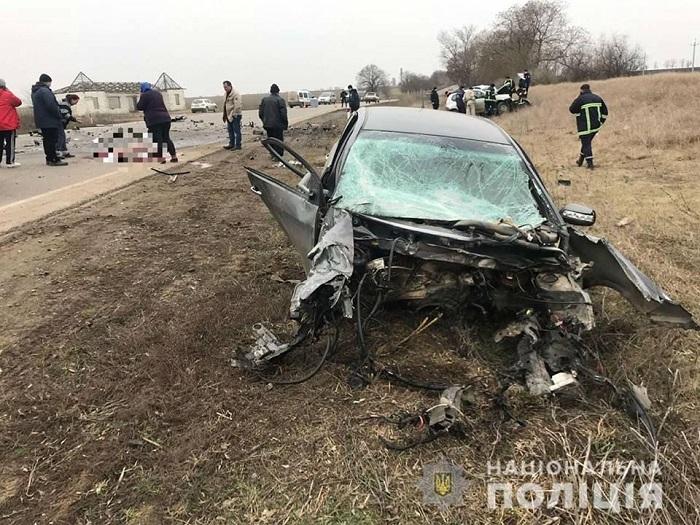 ДТП на трассе Одесса-Рени. Погибли два человека. ФОТО