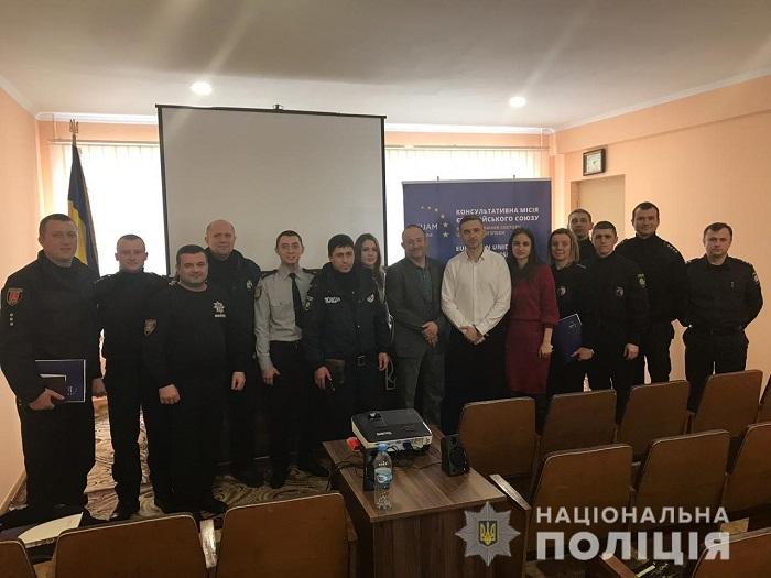 Измаильские полицейские перенимают опыт шведских коллег