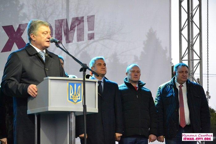Президент Украины побывал в Измаиле. ВИДЕО