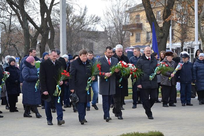В Измаиле отметили День соборности Украины. ФОТО