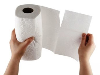 7 лайфхаков по использованию бумажных полотенец