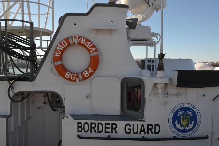 В Измаиле отметили 50-летие со дня поднятия флага на корабле морской охраны