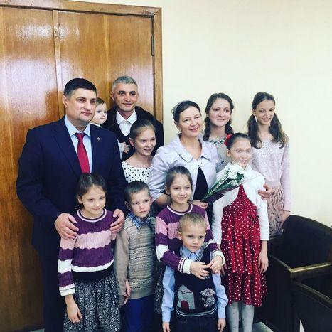 Измаильчанка получила почетное звание «Мать-героиня»
