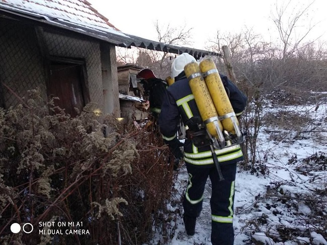 В Измаиле в результате пожара погиб мужчина. ФОТО