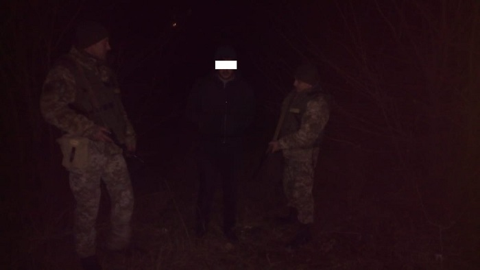 пограничники задержали нарушителя