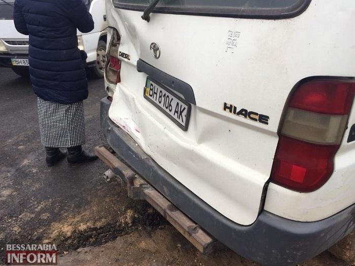На трассе Одесса-Рени произошло ДТП