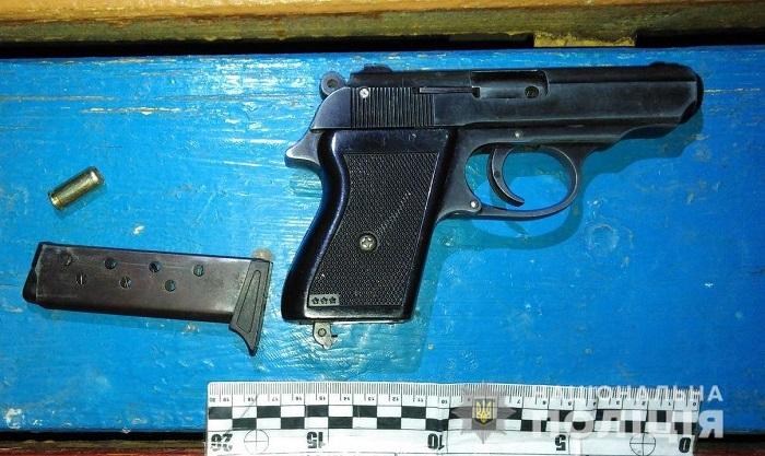 Измаильские правоохранители изъяли у местного жителя оружие