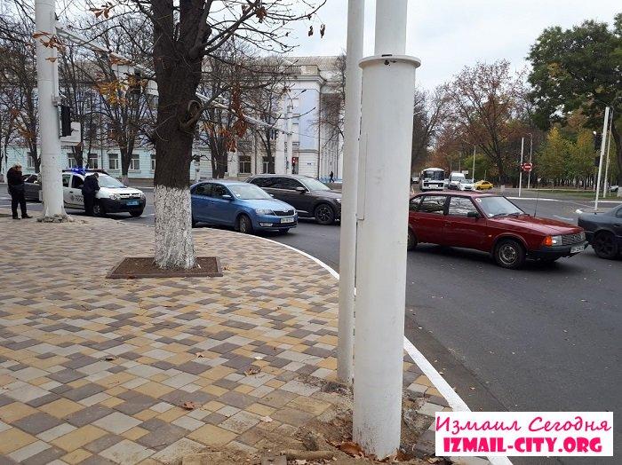 В Измаиле ДТП. Skoda - Москвич. ФОТО