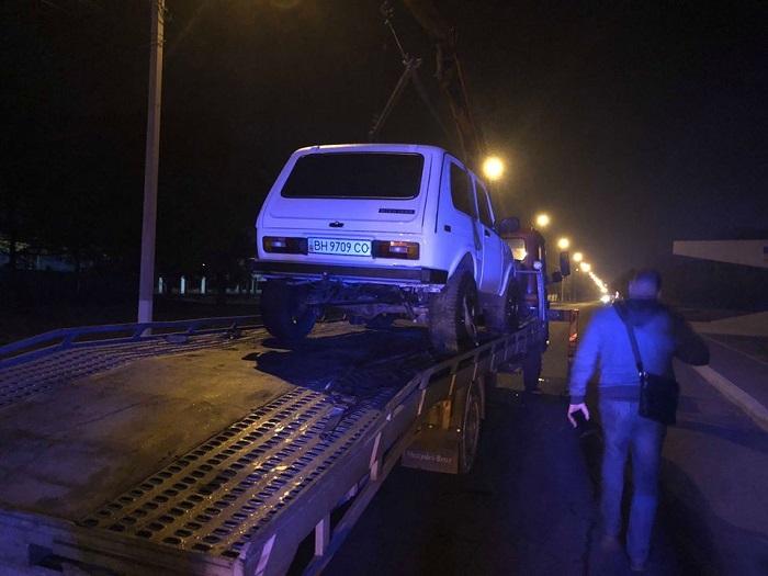 В Измаиле пьяным за рулем задержан известный журналист. ФОТО