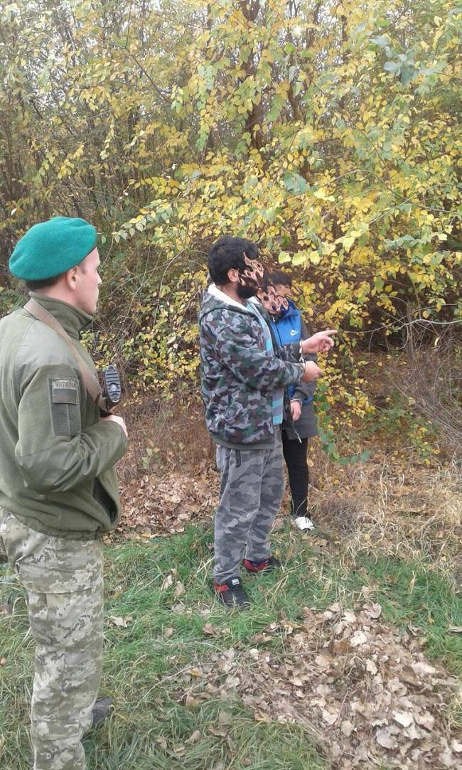 Пограничный наряд отдела «Болград» Измаильского отряда увидел двух неизвестных