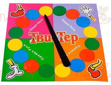Старая добрая игра «Твистер»…