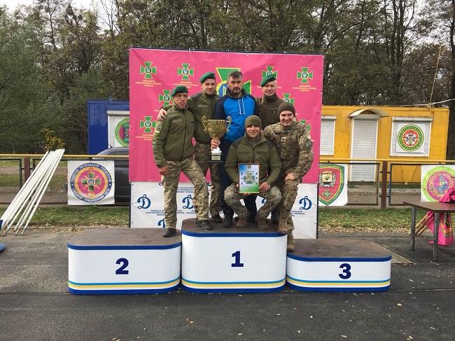 Военнослужащие Измаильского отряда среди лучших полиатлонистив пограничного ведомства