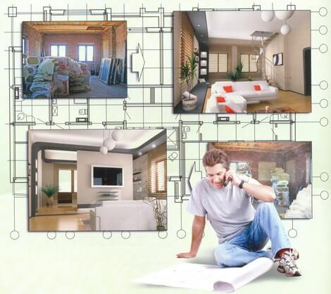 Ремонт в доме: основные этапы