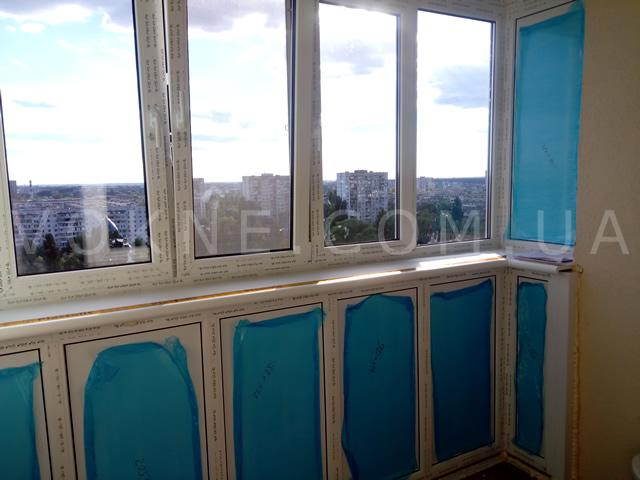 Остекление лоджий и балконов в Киеве от профессионалов vokne.com.ua