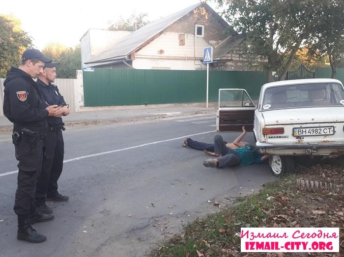 В Измаиле нетрезвый водитель устроил ДТП. ФОТО