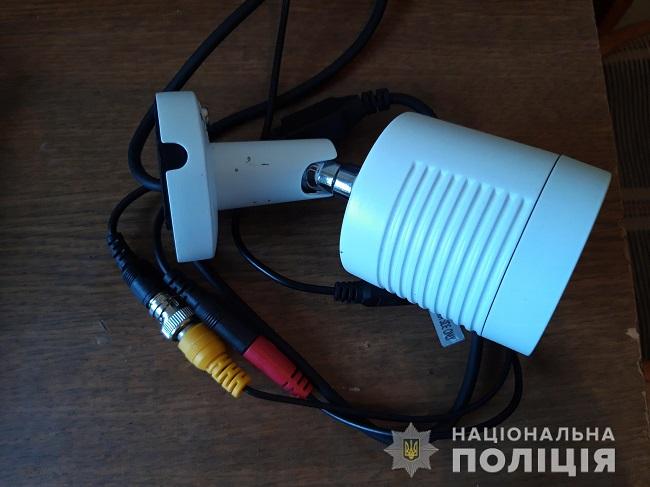 В Измаиле правоохранители установили мужчину, который совершил кражу камеры видеонаблюдения