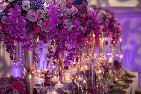 Трэнд сезона 2018 - свадьба в цвете ультрафиолет