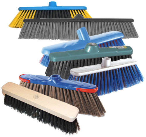 Щетки для подметания и уборки